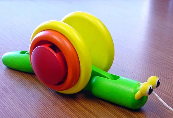 Picture of Recalled Snail Pull Toy